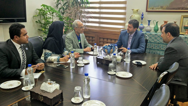 President ECOSF meets Mayor of Isfahan Iran on April 28th, 2017