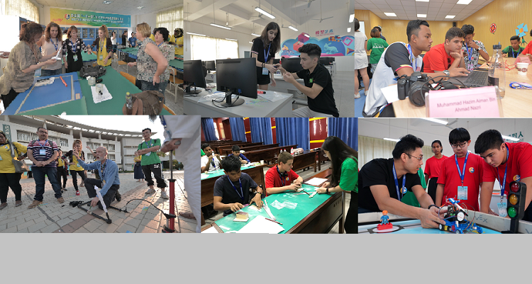 The glimpses of 3rd Teenager Maker Camp and Teacher Workshop held in Nanning, China (Sept. 25-29, 2019)