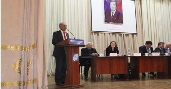 President ECOSF Addressed the International Scientific and Technical Conference at the Kyrgyz State Technical University, Bishkek - 9-10 Oct 2015