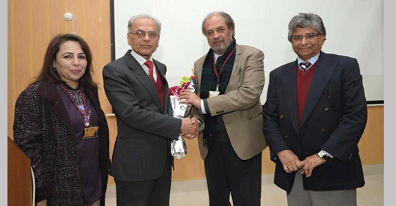 President ECOSF Lectures at the GC University Lahore on 22 Jan, 2016