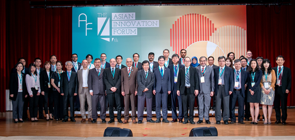 4th Asian Innovation Forum organised by STPI Taiwan and KISTEP Korea in partnership with ECOSF at Taipei, Taiwan (July 10th, 2018)