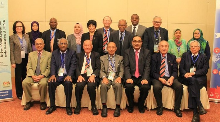 The participants of ISTIC Governing Board Meeting including President ECOSF (8 May 2018)